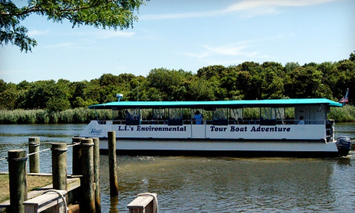 Atlantis Explorer Tour Boat - Riverhead: $9 for a Ride on the Peconic River for Ages 3+ from the Atlantis Explorer Tour Boat ($18.50 value)