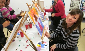Unchartered Creativity: Three-Hour BYOB Painting Workshop for One or Two at Unchartered Creativity (Up to 41% Off)