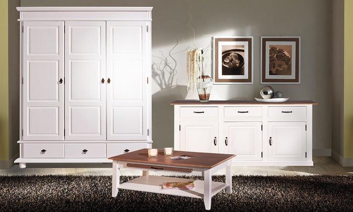 mobili soggiorno in stile provenza groupon goods