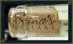 Stina's Cellars: $23 for a Wine Tasting for Two and a Take-Home Bottle of Wine at Stina's Cellars ($55 Value)
