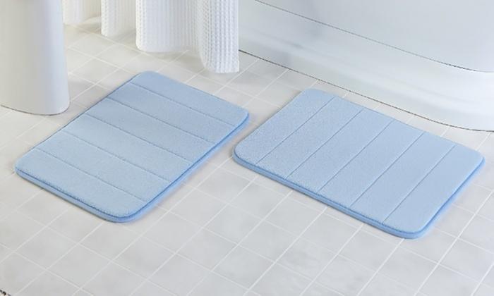 Memory Foam Bath Mat Groupon Goods