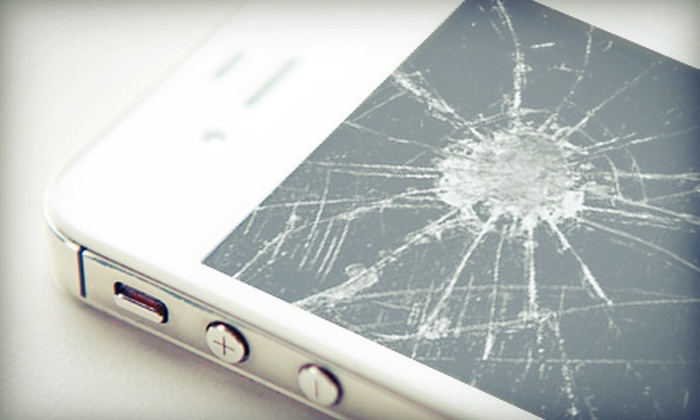 Genius Phone Repair - Multiple Locations: Screen Repair for iPhone 4, iPod Touch, or iPhone 4S, or $25 for $50 Toward Screen Repair at Genius Phone Repair