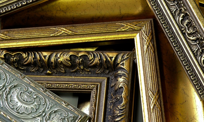 Thompson's Frame Factory - Multiple Locations: Custom Framing and Framed Artwork at Thompson's Frame Factory (Up to 52%Off). Three Options Available.