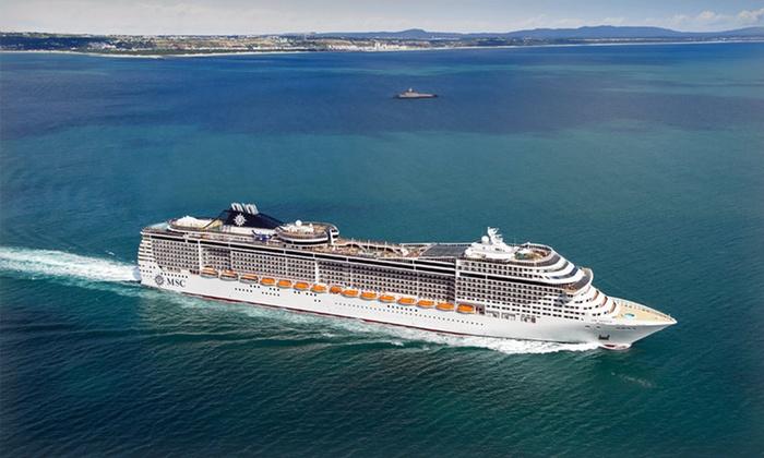 Eastern or Western Caribbean Cruise - MSC Cruises: 7-Night Eastern or Western Caribbean Cruise from MSC Cruises