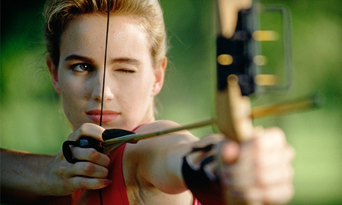 Saluda River Archery Club - Indoor Range: Archery Package with Instruction and Practice for One or Two at Saluda River Archery Club (Up to 53% Off)