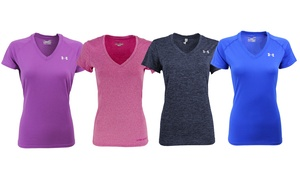Under Armour Women's UA Tech Slim-Fit V-Neck T-Shirt