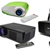 Favi Home Theater Projectors with Travel Bag
