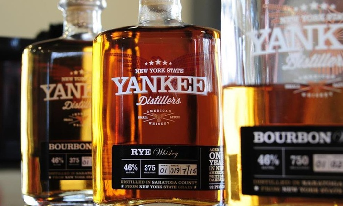Yankee Distillers - Clifton Park: Tour, Tasting, and Take-Home Glasses for Two or Four at Yankee Distillers (Up to 50% Off)