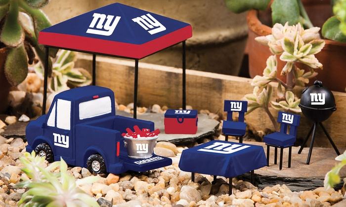 New York Giants Mini-Tailgate Set: New York Giants Mini-Tailgate Set