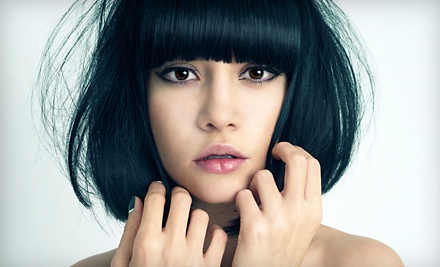 Shampoo, Cut, and Style (a $50 Value) - Eclipz Hair & Tanning Salon in Ottawa
