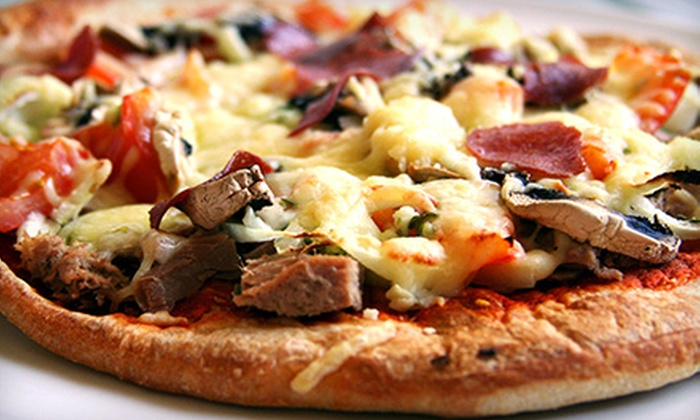 John's Pizzeria Ristorante and Lounge - Bucktown: $10 for $20 Worth of Pizzeria Cuisine at John's Pizzeria Ristorante and Lounge