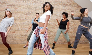 Dance Evolution: Month of Dance Classes or Month of Zumba Classes for One or Two at Dance Evolution (Up to 69% Off)