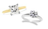 GROUPON: 1.00 CTW Certified Diamond Ring in 14K Gold 1.00 CTW Certified Diamond Ring in 14K Gold