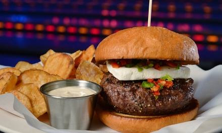American Food, Drinks, and Games at The Point Bar and Grill (62% Off). Two Options Available.
