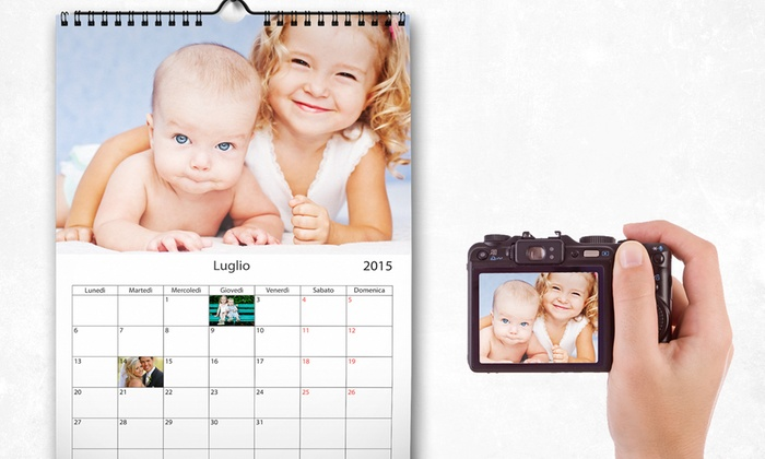 Plaid Personalizzato Groupon.Calendario Da Muro Personalizzato Groupon Goods