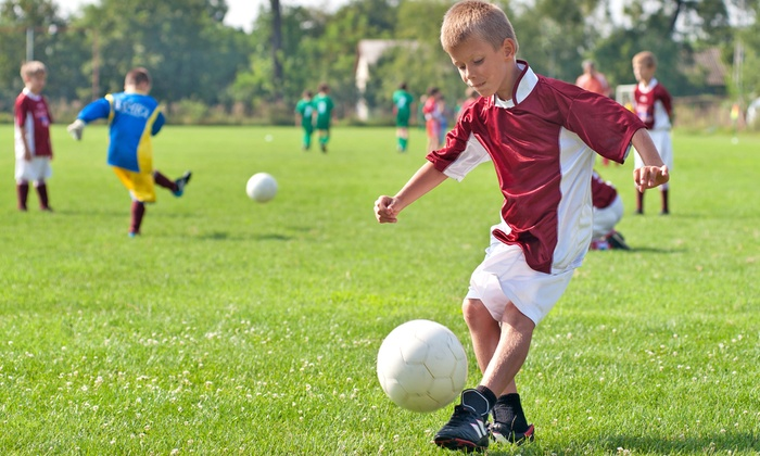 Los Gatos United Soccer - Creekside Sports Park: One Week of Full-Day Sports Camp for Kids Ages 5–13 at Los Gatos United Soccer (47%Off). Two Sessions Available.