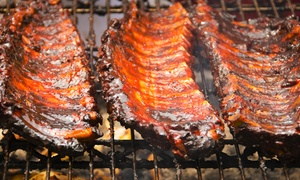Papa Willie's BBQ & Catering: Barbecue at Papa Willie's BBQ & Catering (Up to 50% Off). Three Options Available.