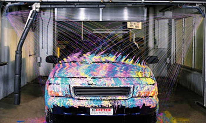 Spirit of America Car Wash - Multiple Locations: 3, 6, or 12 Extreme Clean Car Washes at Spirit of America Car Wash (Up to 62% Off)