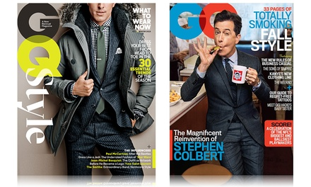 1-Year, 12-Issue Print and Digital Subscription to GQ and the Fall/Winter Issue of GQ Style