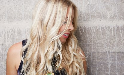 image for <strong>Haircut</strong>, Shampoo, and Style With Optional Single-Process Color at Salon 8736 (Up to 50% Off)