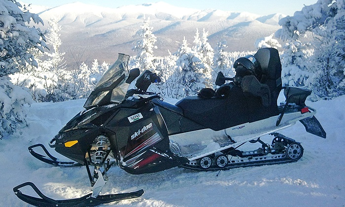 SledVentures Snowmobile Rentals - Lincoln: $89 for a Bog Pond or Franconia Notch Snowmobile Tour from SledVentures Snowmobile Rentals ($155 Value)