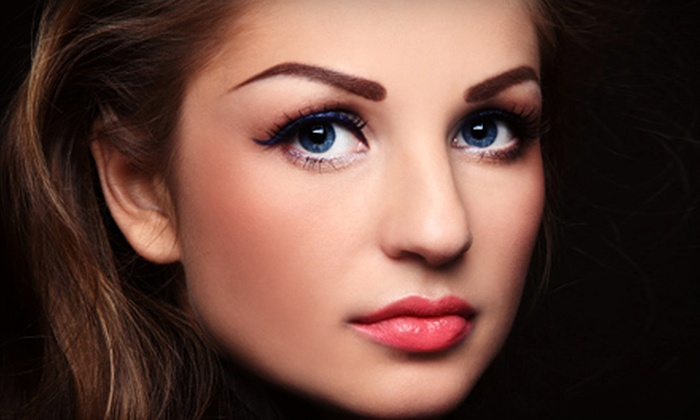 Permanent Makeup by Nancy Russ - Allanwood: Permanent Makeup for the Upper or Lower Eyelids, Both, or the Brows from Permanent Makeup by Nancy Russ (Up to 71% Off)