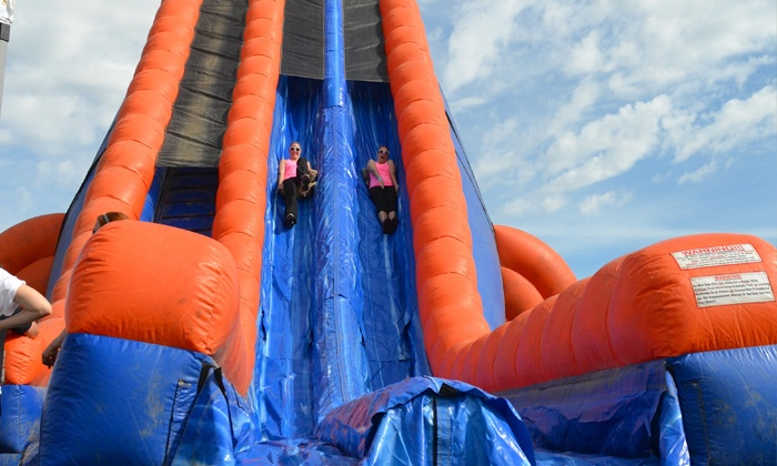 The Great Inflatable Race - Downtown: Entry for One or Two to The Great Inflatable Race on Saturday, August 27 (60% Off)