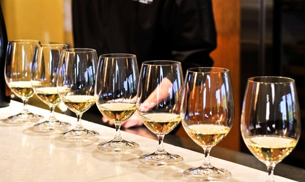 $22 for Wine Tasting for Two with Cheese Plate and $5 Credit at Saratoga Wine & Beer Garden ($36 Value)