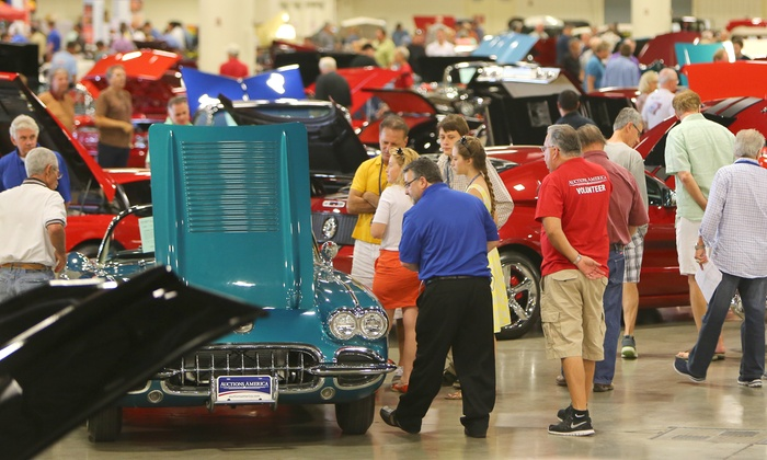 Auctions America - Greater Fort Lauderdale/Broward County Convention Center: One-Day Admission for Two or Four to Auctions America Collector-Car Show and Auction (Up to 51% Off)
