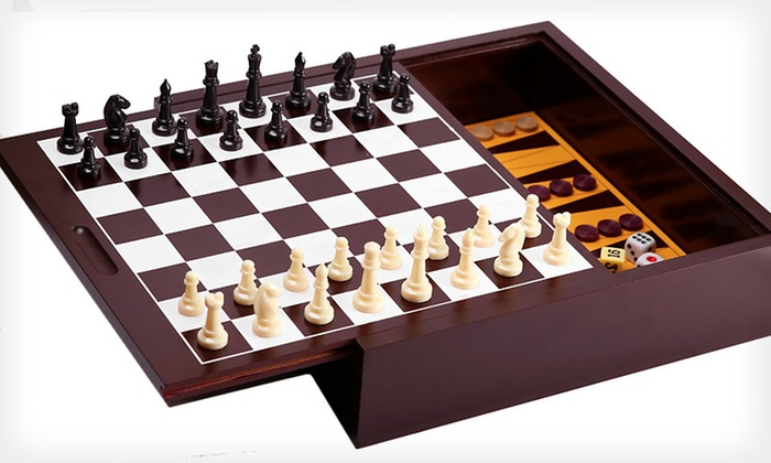 11-in-1 Wooden Game Set: $22 for an 11-in-1 Wooden Game Set ($49.99 List Price). Free Shipping and Free Returns.