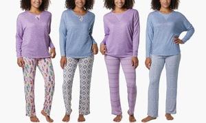 Muk Luks Butter Knit Sleep Set (2-Piece)