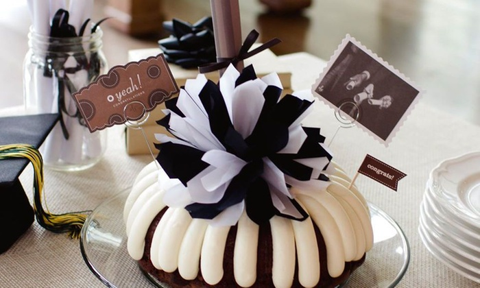 "Nothing Bundt Cakes-jacksonville - Beach Haven: One Small 8"" Decorated Cake or Large 10"" Cake  at Nothing Bundt Cakes Jacksonville (39% Off)"