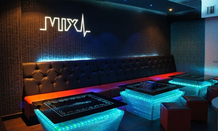 Mix karaoke - Leeds: Mix Karaoke: Private Booth With Platter and Drinks For Five (£7.50) or Ten (£15) (88% Off)