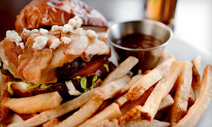 Fleetwood Arms Pub - Fleetwood: Burgers and Wings for Two or $10 for $20 Worth of Pub Cuisine at Fleetwood Arms Pub in Surrey