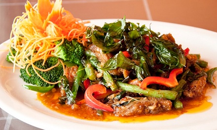 Thai Food for Dine-In or Carry-Out at I-Thai Restaurant & Bar (Up to 45% Off)