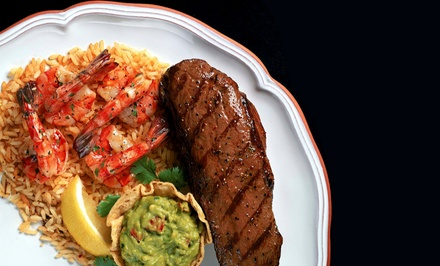 Cuisine at Mi Tierra Restaurant & Bar (Up to 60% Off). Two Options Available.
