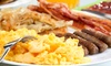 Shakabrah Java - Tacoma: Classic Breakfast and Lunch Food at Shakabrah Java (Up to 61% Off). Two Options Available.