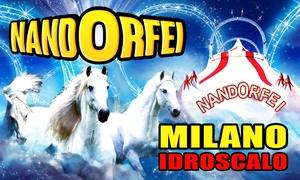 Circo NandOrfei a Milano: Circo NandOrfei - fino al 25 febbraio all'Idroscalo di Milano (sconto fino a 64%)