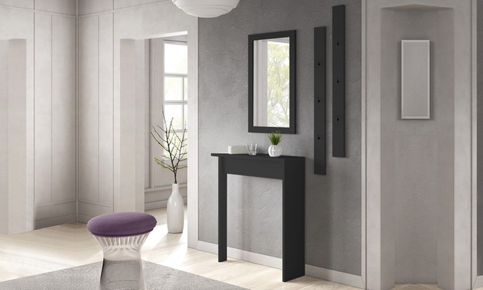 selsey m bel set f r den flur groupon goods. Black Bedroom Furniture Sets. Home Design Ideas