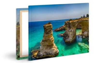 Toile photo de différentes dimensions et personnalisable dès 3,99 € avec PhotoExpress.eu