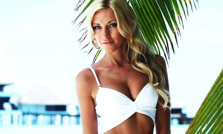 A Custom Airbrush Tanning Session at Gorgeous Glows Spray Tans (46% Off)
