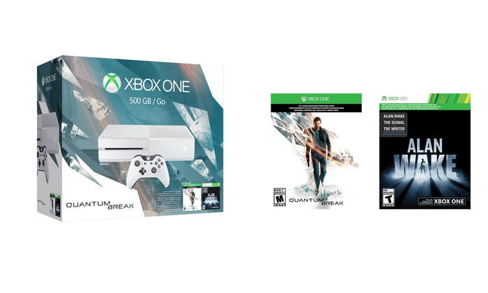 Xbox One Special Edition Quantum Break Bundle with Cirrus White Console