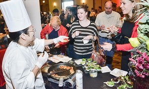 Taste of the Town Festival: One, Two, or Four Tickets to Wheeling's Restaurant Row Taste of the Town Festival (Up to 51% Off)