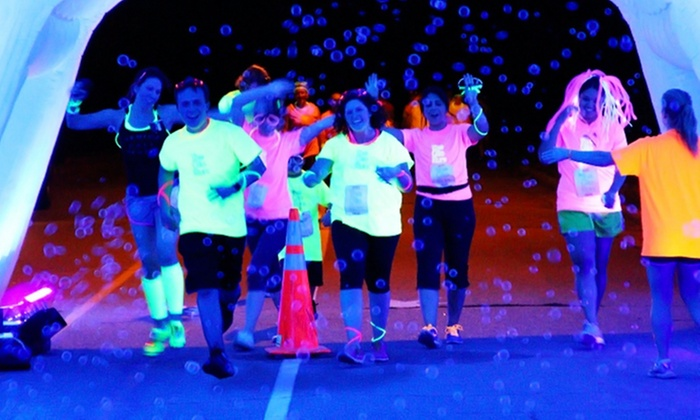 The Glo Run Memphis - Memphis: $39 for The Glo Run 5K with Energy Upgrade on Saturday, March 28 ($65Value)