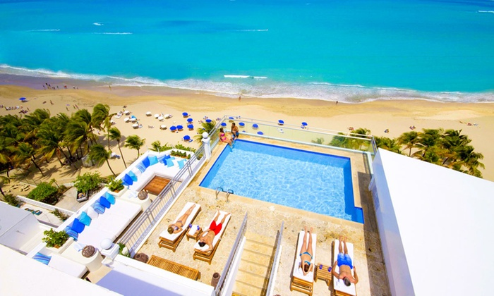 San Juan Water Beach Club Company Website Groupon Getaways Faq 4 Star Puerto Rican Hotel W Welcome Drinks Daily Breakfast