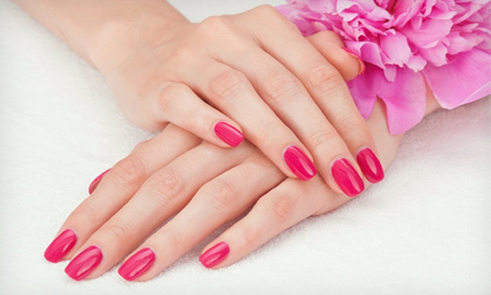 Kris Tall f/x Make Up & Nail Studio - Farmington Hills: Two Shellac or Regular Manicures or Three Fill-Ins at Kris Tall f/x Make Up & Nail Studio (Half Off)