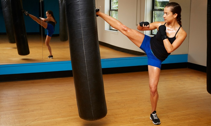 Velocity Martial Arts - Waverly: 5 or 10 Zumba or Kickboxing Classes at Velocity Martial Arts (Up to 69% Off)
