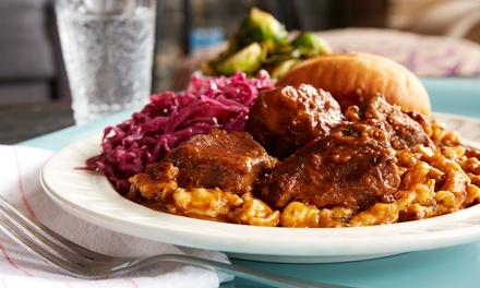 $12 for $20  Worth of German Food and Nonalcoholic Drinks for Two at Schnitzel Kitchen