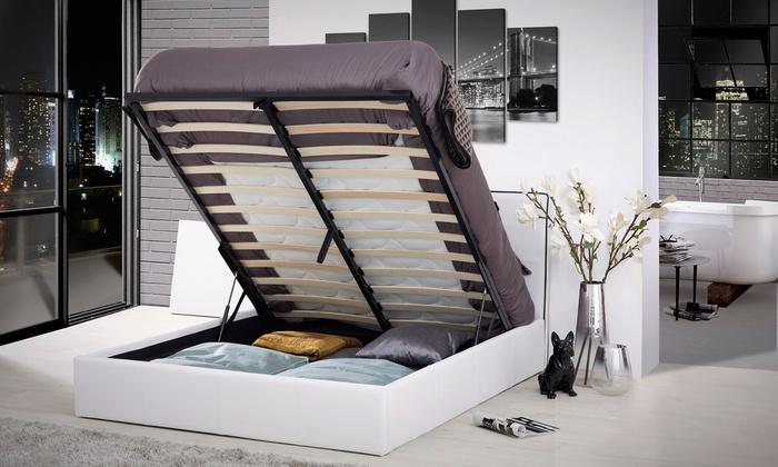 lit coffre au choix groupon shopping. Black Bedroom Furniture Sets. Home Design Ideas