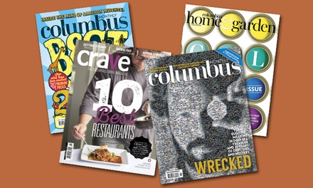 "One-, Two-, or Three-Year Subscription to ""Columbus Monthly"" Magazine (Up to 49% Off)"